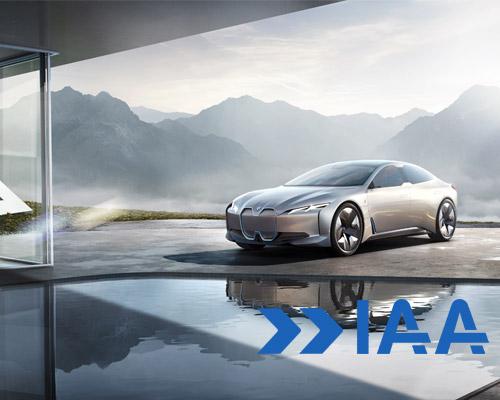 宝马 i Vision Dynamics亮相法兰克福车展