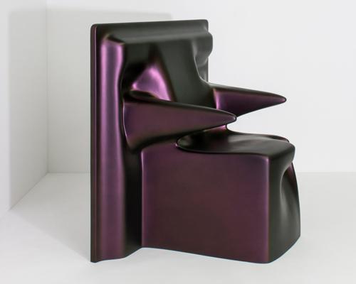 drape座椅 用数字技术模拟悬垂感