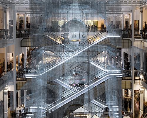 巴黎le bon marché百货商店里的减法美学