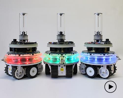 科学家发明能自行合并拆分还会自我修复的机器人