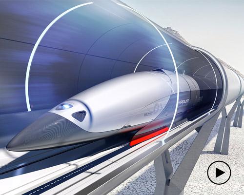 priestmangoode在伦敦设计节上展示了hyperloop的初步概念