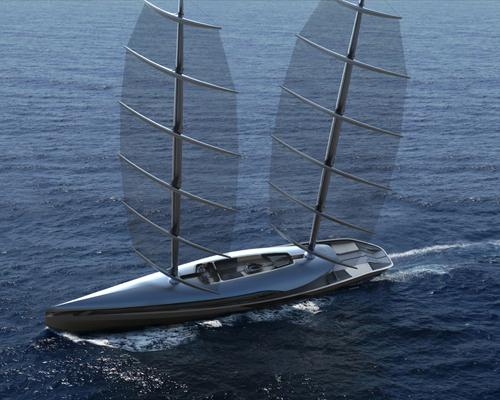timur bozca设计高性能环球巡航艇cauta