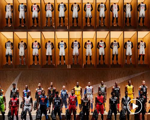 耐克推出NBA新球衣 可用手机读取信息