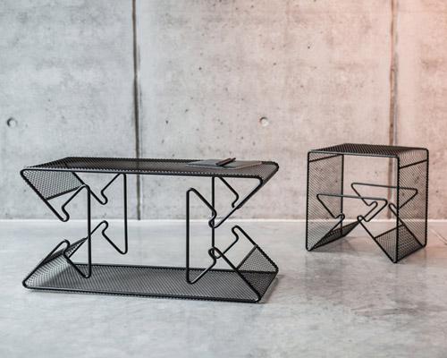 灵感源自墨迹测验的家具 功能由你决定