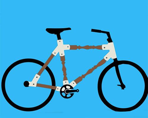 doron manber联合liran cohen打造模块化自行车