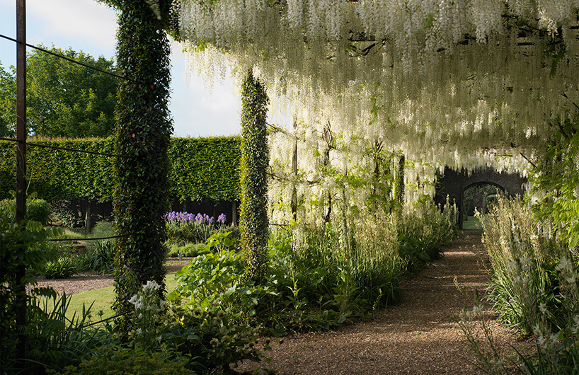 古老而又庄严的英国petworth花园