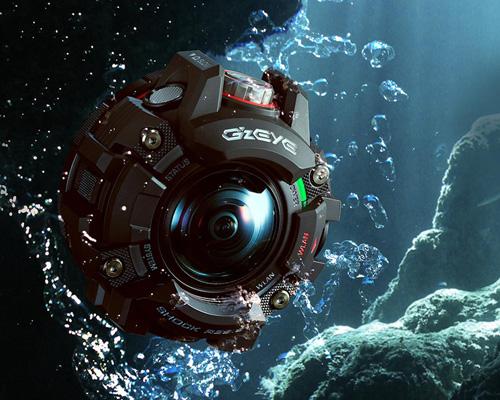 卡西欧发布GZE-1运动相机具备G-shock手表的坚固性