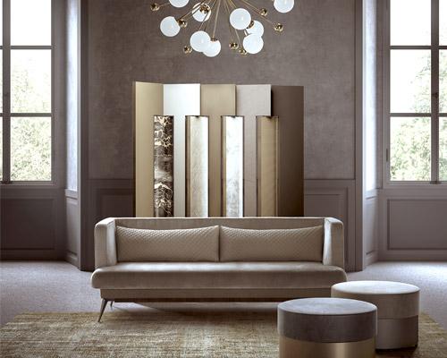rossato推出home系列家具 名贵材料创造永恒质感
