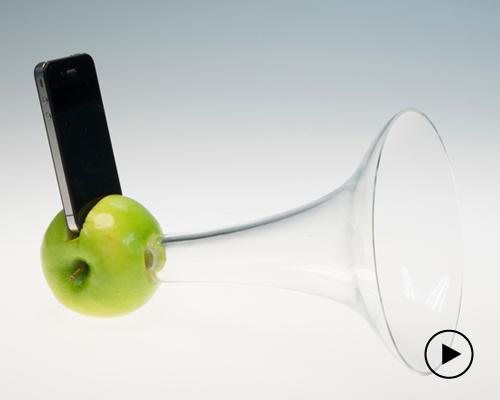 aric snee设计实验 打造苹果扬声器