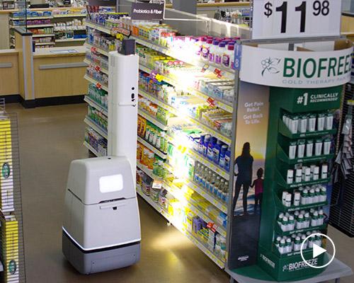 沃尔玛在50多个门店推出货架扫描机器人