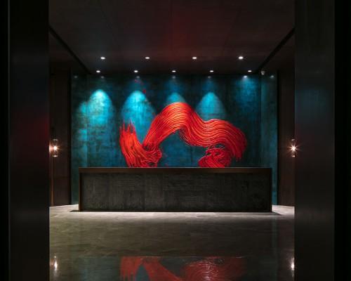 派尚设计新作 | 宜昌国际广场销售会所:山水画卷,大美无言