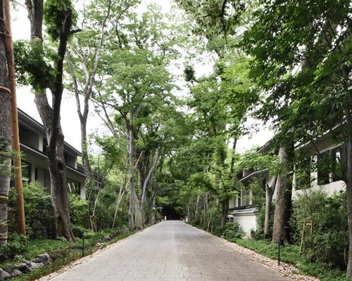 京都世界遗产地旁的日式住宅综合体