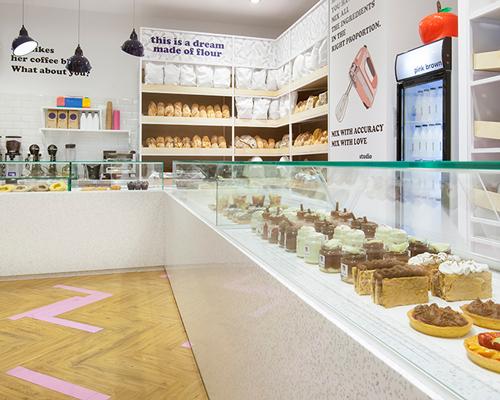 studiomateriality为甜美面包店翻新 轻松愉悦照亮新的一天