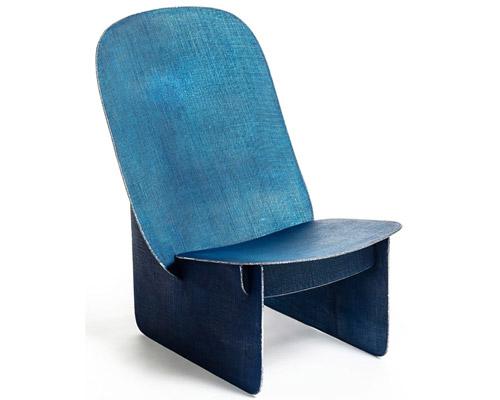 焊接技术打造tiss tiss椅 质感酷似牛仔布
