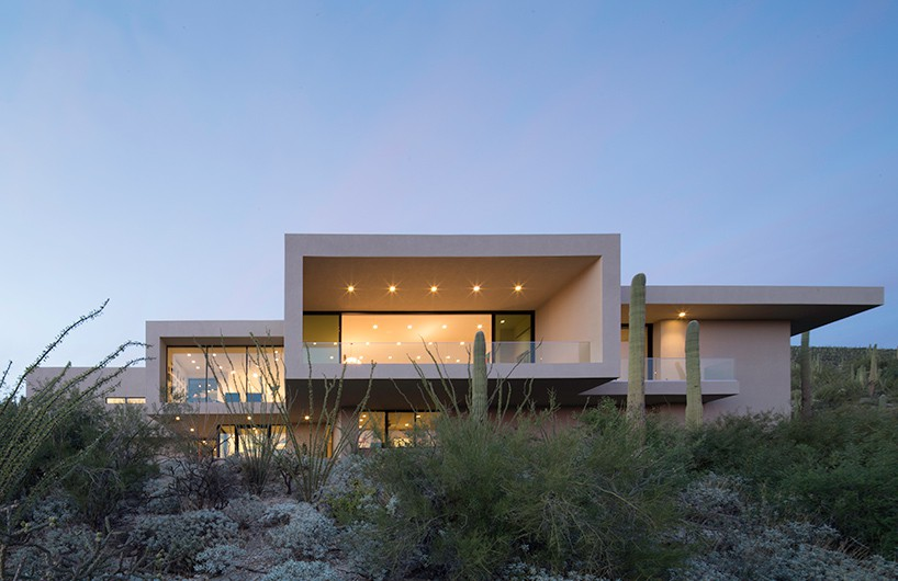 kevin B howard architects打造沙漠中的艺术庭院