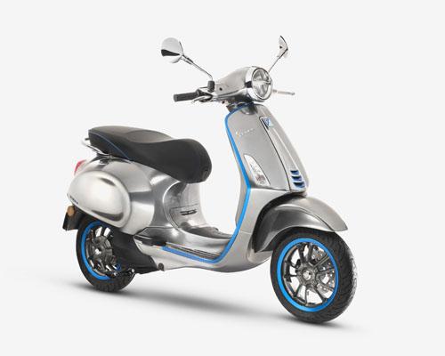 Vespa Elettrica电动摩托车将于2018年正式发售