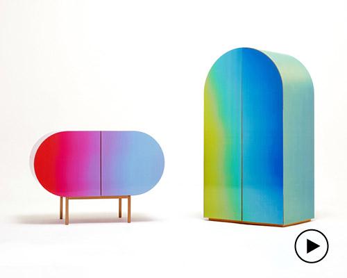 orijeen透镜技术实现变色家具 打造渐变表面