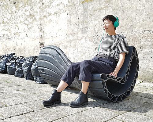 3D打印塑料袋 摇身变城市家具