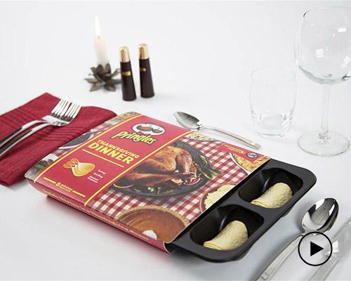 品客推出感恩节薯片大礼包