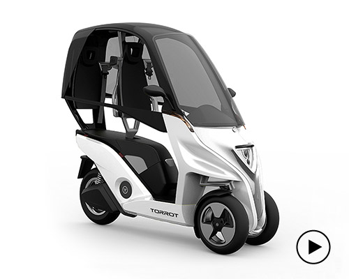 torrot velocipedo机车 摩托般敏捷 汽车般安全