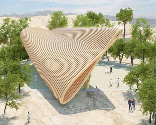 paul cocksedge三十三米长建筑 以太阳运动为灵感