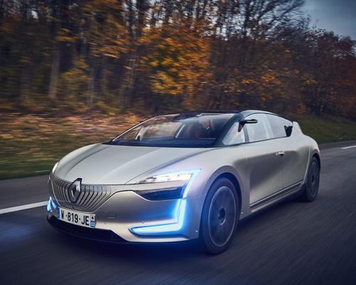 雷诺正式发布全新纯电动概念车Symbioz并进行试驾