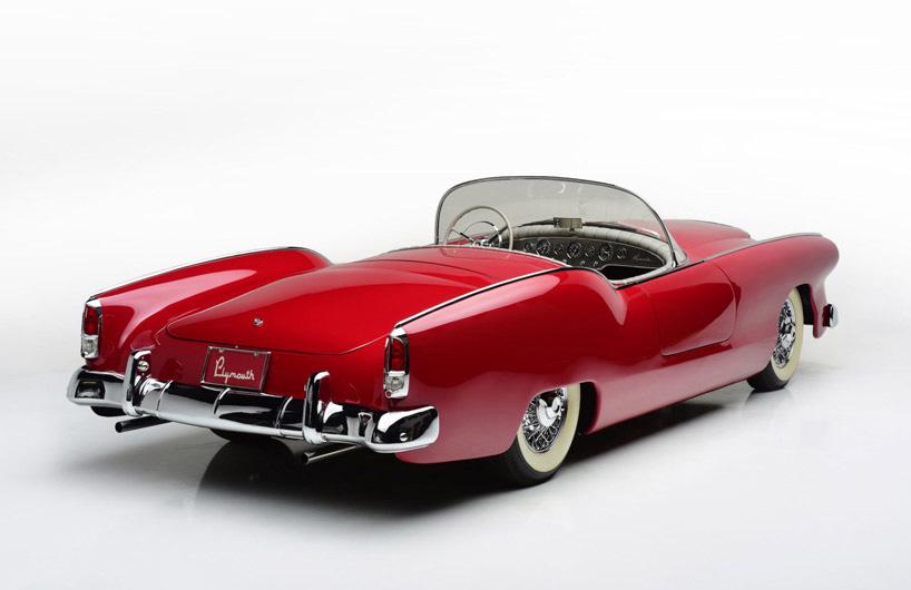 50年代孤品复古概念车即将拍卖