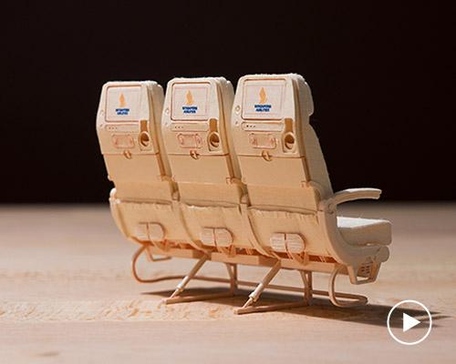 高强度纸做成的1:20比例的空客A380模型