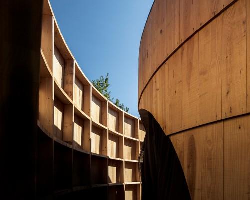 diogo aguiar studio打造电影放映花园亭