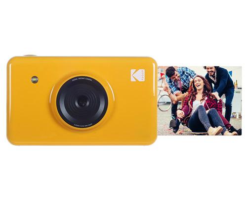 柯达发布新款Mini Shot拍立得相机