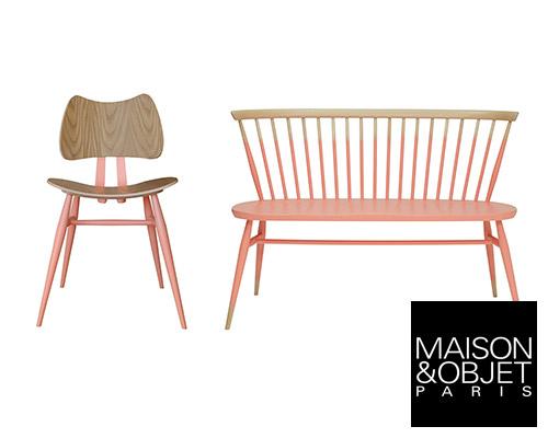 1950年代经典座椅穿上千禧粉色新衣