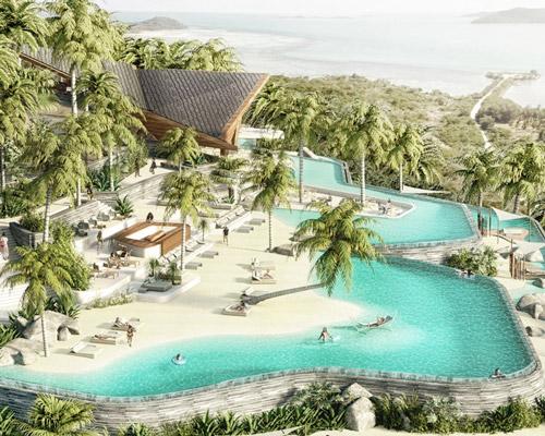 苏梅岛酒店设计 把海滩搬上山坡
