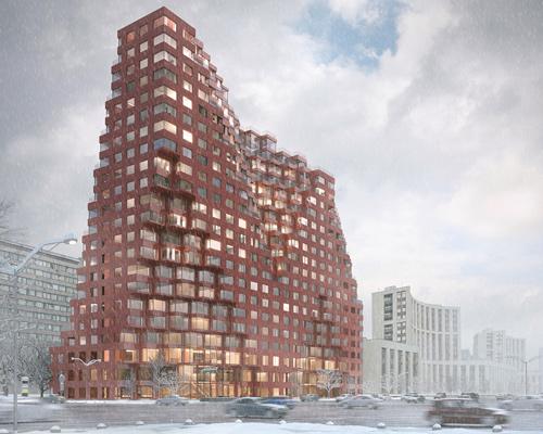 MVRDV红瓷砖综合体 莫斯科新地标