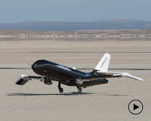 NASA开发超音速附近机翼能够在飞翔中曲折