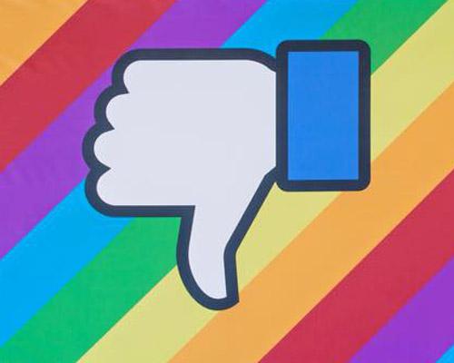 "Facebook开始测试""downvote""按钮"