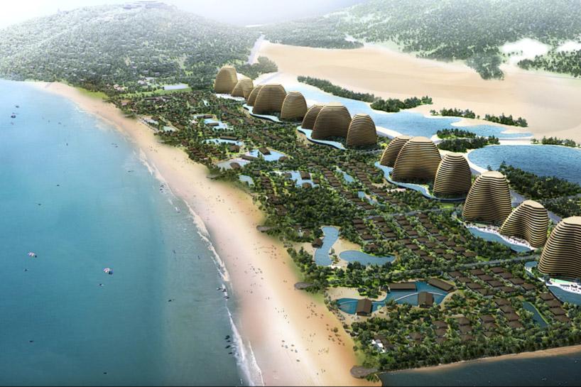 chapman taylor's colossal eco-resort-designboom-09
