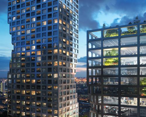 鹿特丹中心区多用途建筑综合体项目