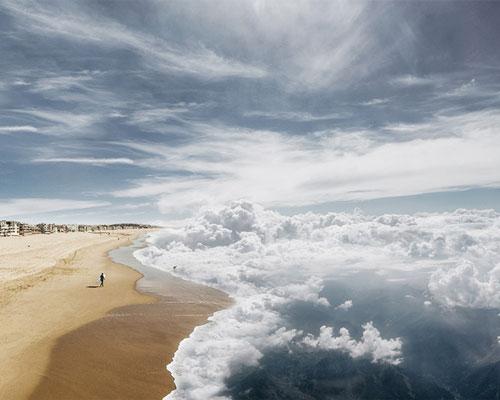 laurent rosset将蓝天和大海融合在一起