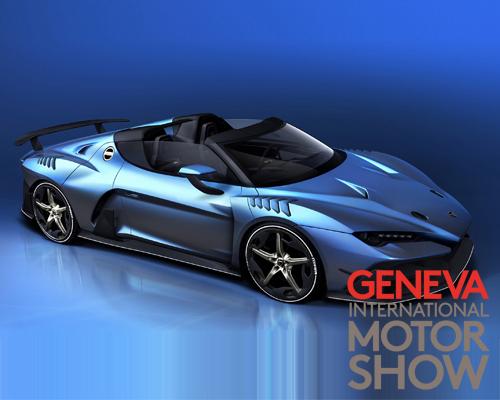 Italdesign将在日内瓦车展上发布Zerouno超级跑车敞篷版车型