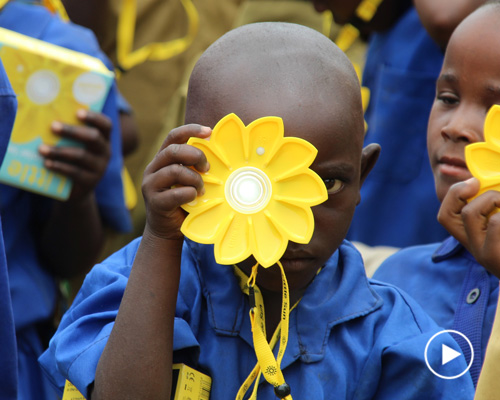 olafur eliasso小太阳基金会 为卢旺达带去光明