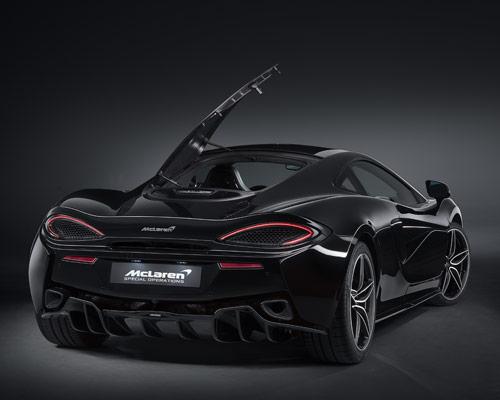 迈凯伦将推出570GT MSO黑色系列跑车全球限量100台