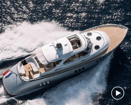zeelander 55豪华游艇 经典的现代化诠释