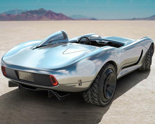 Hackrod公司开发全球首款定制3D打印汽车
