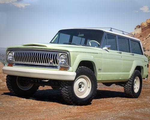 七辆定制吉普概念车将在2018年复活节亮相