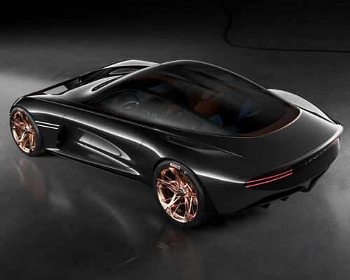 Genesis发布碳纤维车身概念车Essentia