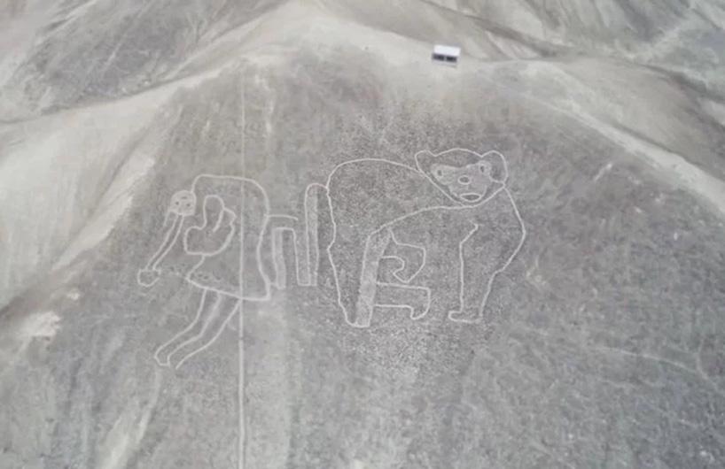 秘鲁纳斯卡新发现多处巨型古地画