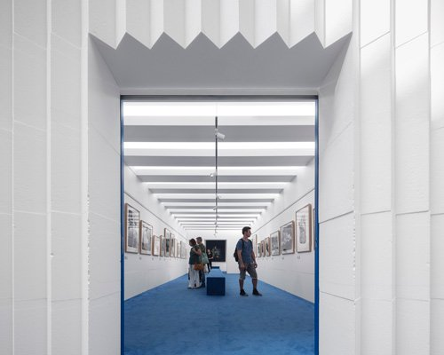 diogo aguiar + joao jesus于里斯本商场搭建临时展厅