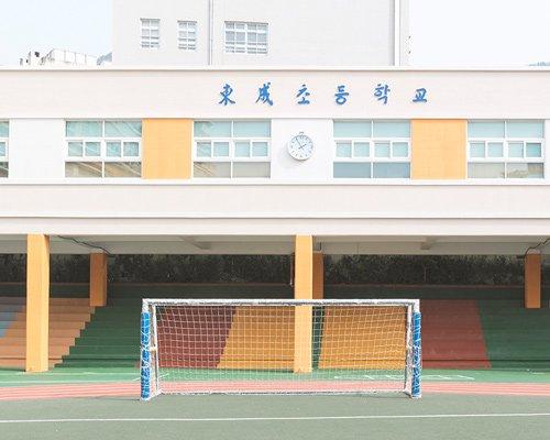 andres gallardo偶遇韩国糖果系校园