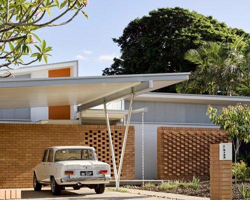 开敞明亮的澳大利亚养蜂人住宅