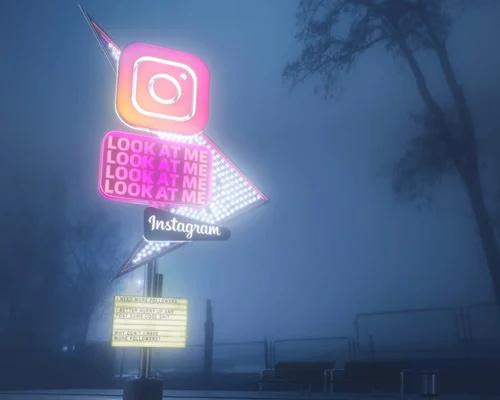 设计师把社交媒体想象成汽车旅馆